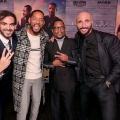 Hollywood, CA – January 14, 2020: Adil El Arbi, Director, Will Smith, Actor/Producer, Martin Lawrence and Bilall Fallah, Director, attend the Los Angeles Premiere of Columbia Pictures BAD BOYS FOR LIFE.