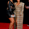 ATLANTA, GEORGIA - OCTOBER 01: Ari Fletcher and DreamDoll attend the 2021 BET Hip Hop Awards at Cobb Energy Performing Arts Center on October 01, 2021 in Atlanta, Georgia. (Photo by Paras Griffin/Getty Images for BET)