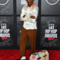 ATLANTA, GEORGIA - OCTOBER 01: Tyler, the Creator attends the 2021 BET Hip Hop Awards at Cobb Energy Performing Arts Center on October 01, 2021 in Atlanta, Georgia. (Photo by Paras Griffin/Getty Images for BET)