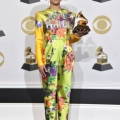 LOS ANGELES, CALIFORNIA - JANUARY 26: Esperanza Spalding, winner of Best Jazz Vocal Album, poses in the press room during the 62nd Annual GRAMMY Awards at STAPLES Center on January 26, 2020 in Los Angeles, California. (Photo by Alberto E. Rodriguez/Getty Images for The Recording Academy)