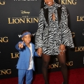 """HOLLYWOOD, CALIFORNIA - JULY 09: Titan Jewell Weatherspoon (L) and Kelly Rowland attend the World Premiere of Disney's """"THE LION KING"""" at the Dolby Theatre on July 09, 2019 in Hollywood, California. (Photo by Jesse Grant/Getty Images for Disney)"""