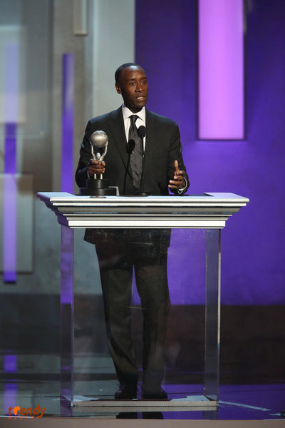 Don Cheadle, winner Outstanding Actor in a Comedy Series, House of Lies - Photo by Jesse Grant