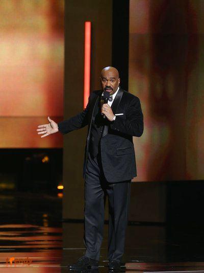 Host Steve Harvey - Photo by Jesse Grant