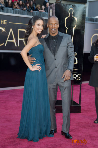 Jamie Foxx and daughter Corinne Bishop - photo by Sara Wood