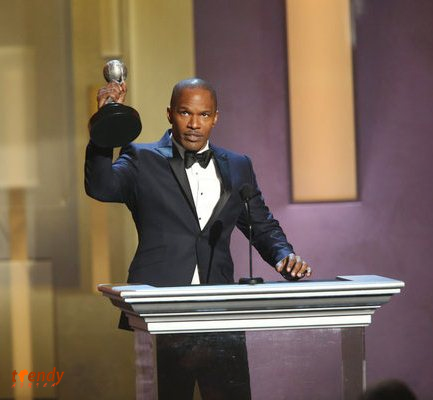 Jamie Foxx winner Entertainer of the Year - Photo by Jesse Grant