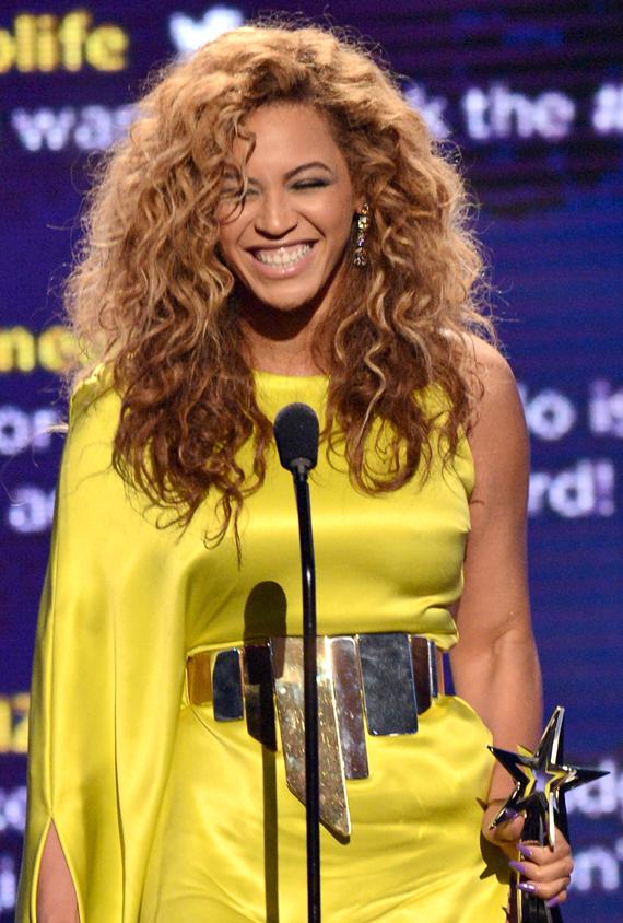Beyonce at the 2012 BET Awards