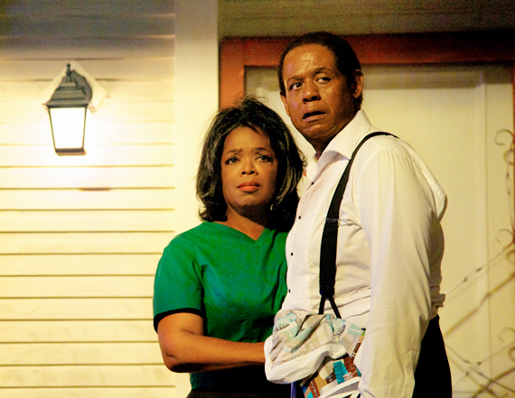 Oprah Winfrey and Forest Whitaker play a married couple in The Butler - Photo by Anne Marie Fox