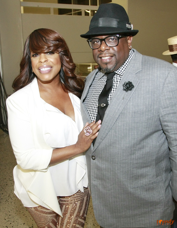 Niecy Nash (L) and Cedric The Entertainer