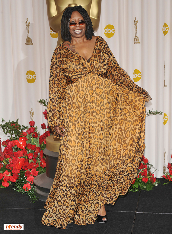 Whoopi Goldberg has previously hosted the Oscars - photo by Royalty Image