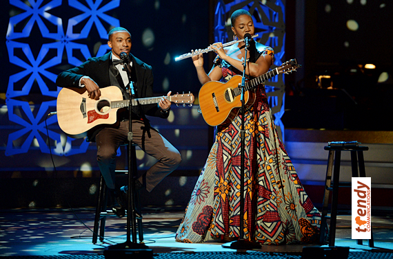 Jonathan McReynolds and India.Arie - photo courtesy of BET Networks