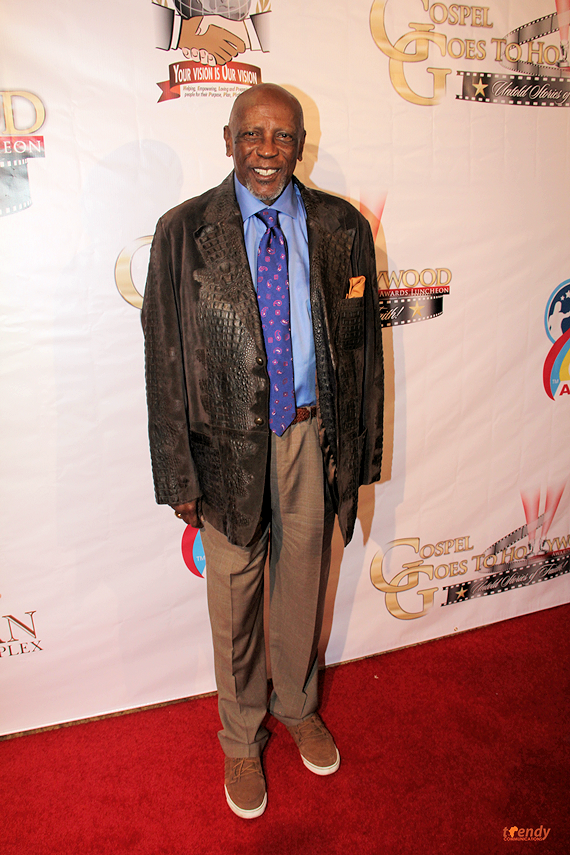 Lou Gossett Jr  honored with the Living Legend Award - photo by Royalty Image
