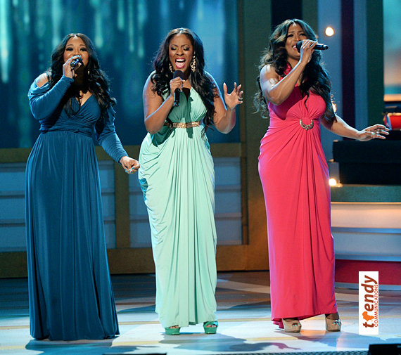The Grammy nominated trio SWV performing onstage - Copy