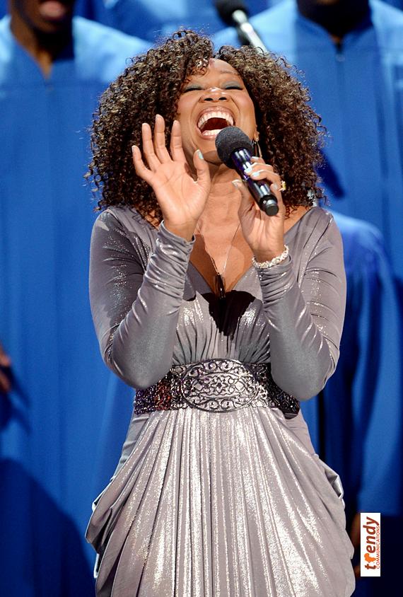 Yolanda Adams performing The Only Way