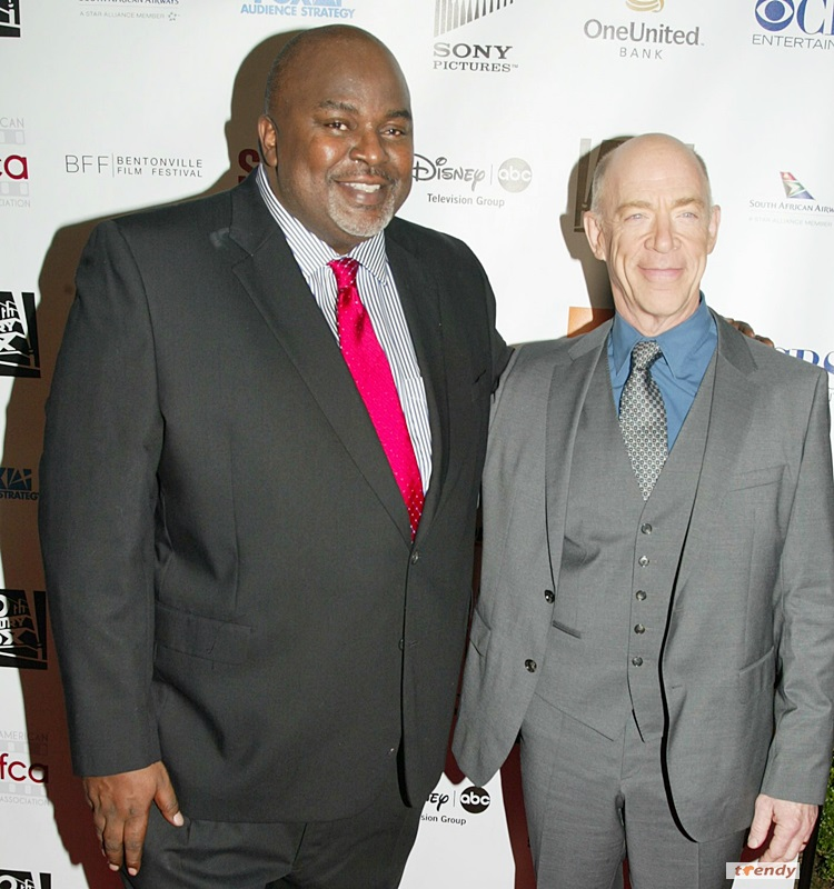 AAFCA co-founder Gil Robertson and J.K. Simmons