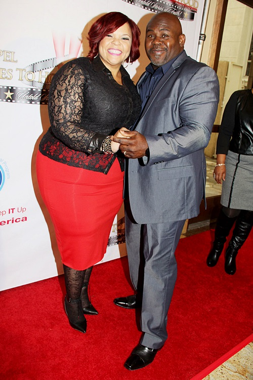 Tamela & David Mann have been married for 27 years  - photo by Royalty Image