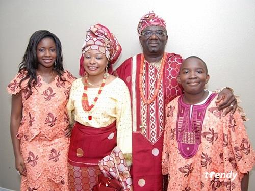 The Omotoye Family - 2009