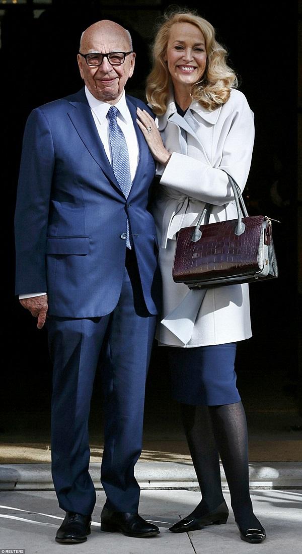 Mogul Rupert Murdoch Weds Ex-Supermodel Jerry Hall