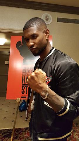 Usher plays iconic boxer Sugar Ray - Photo by Samantha Ofole-Prince