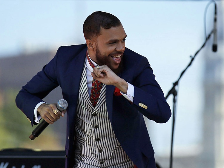 Jidenna performs at the Tidal Stage during day two of Made In America along the Benjamin Franklin Parkway on Sunday, September 6, 2015. ( YONG KIM / Staff Photographer )