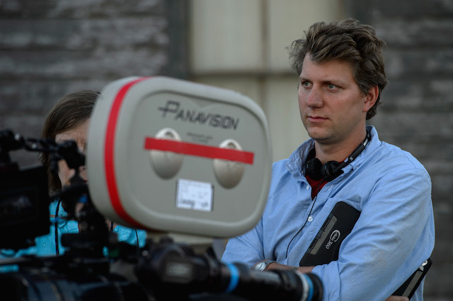 Director Jeff Nichols on the set of LOVING