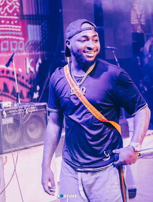 Davido at Felabration