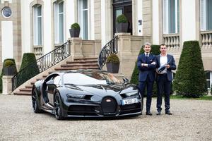 Bugatti and Champagne Carbon