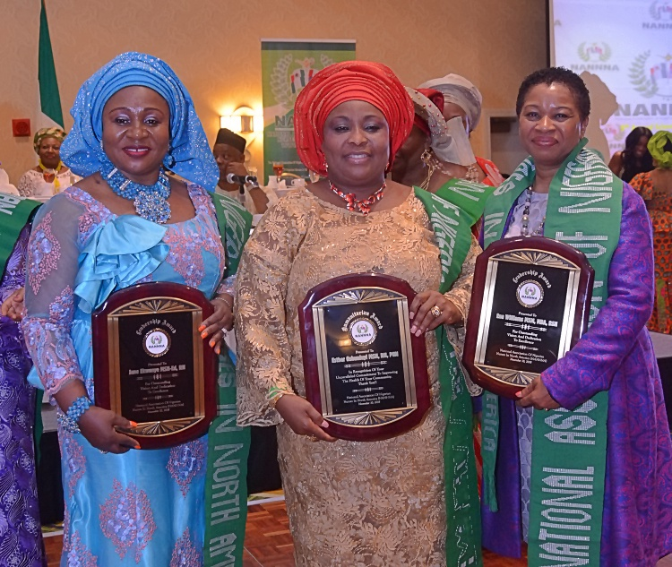 Awardees at NANNNA 2018