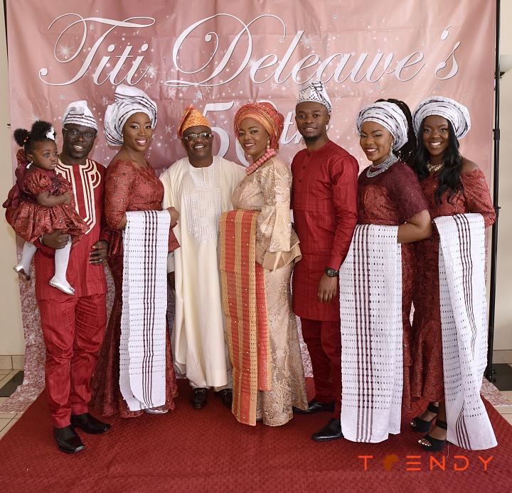 Titi Deleawe and family