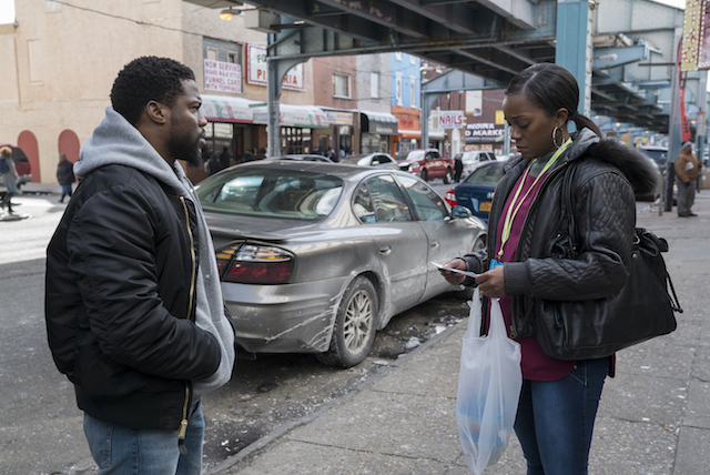Kevin Hart and Aja Naomi King star in THE UPSIDE David Lee/Photographer