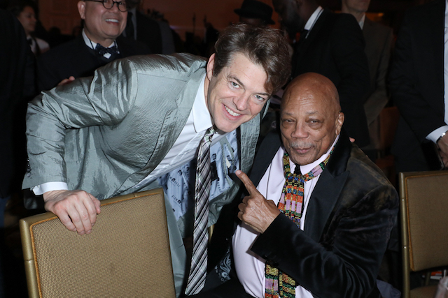 AAFCA Award honorees Jason Blum and Quincy Jones