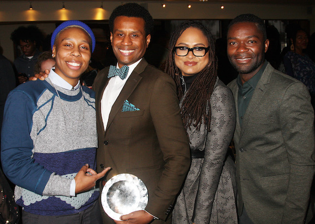 L-R; Lena Waithe, Tendo Nagenda, Ava DuVernay and David Oyelowo