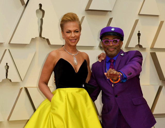 Oscar® nominee Spike Lee and Tonya Lewis Lee