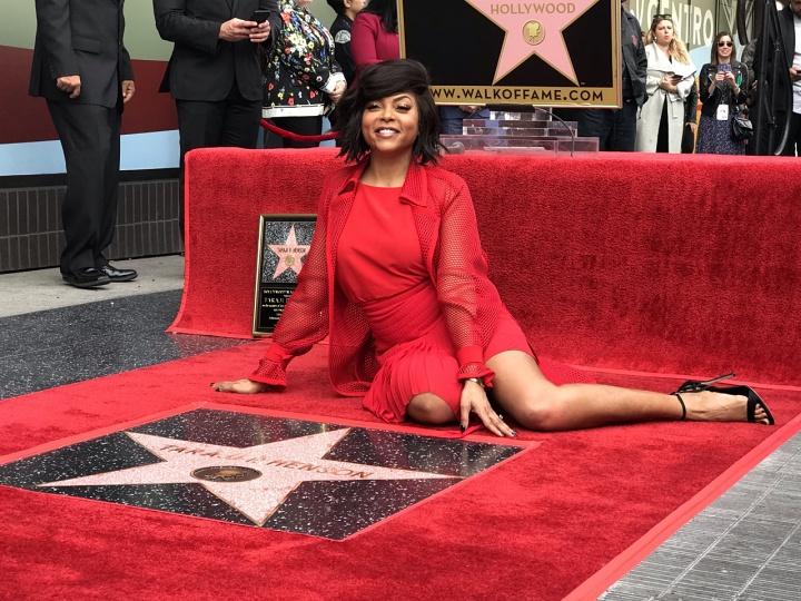 Taraji P. Henson honored in Hollywood