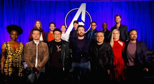 Danai Gurira at the Avengers- Endgame press conference