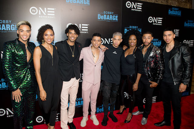 The DeBarge Family with Film Cast