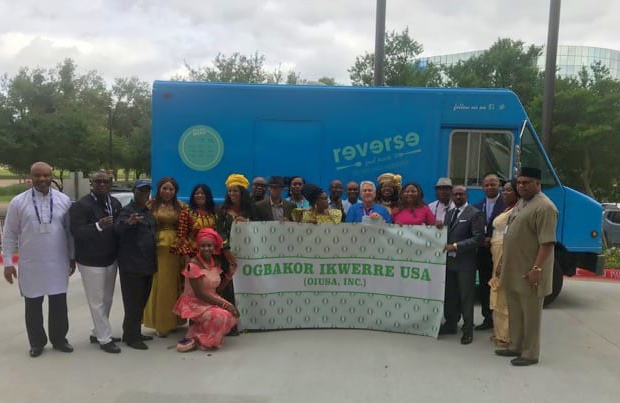 OIUSA donation to Reverse Hunger