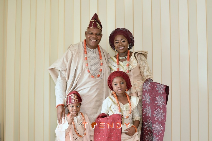 Pastor Kayode Adeyemi and family
