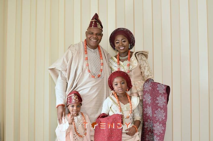 Pastor Kayode Adeyemi and family