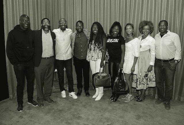 Akin Omotoso, Jamil Smith, Charles King, David Oyelowo, Stacey King, Edwina Findley, Amber Rasberry, Debra Langford, and Dwayne Johnson Cochran