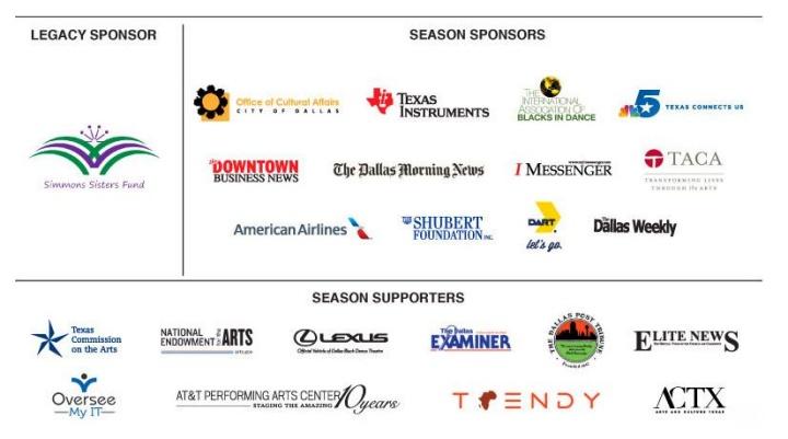 DBDT season sponsors