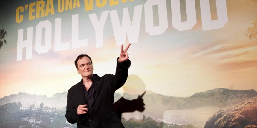 Director Quentin Tarantino at