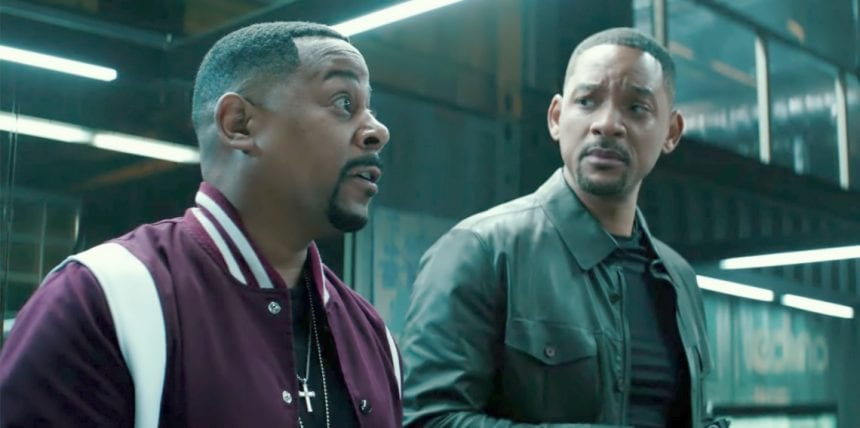 Mike Lowrey (Will Smith) and Marcus Burnett (Martin Lawrence)
