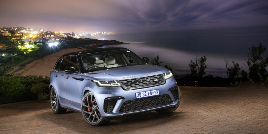 Range Rover Velar is now available in sub-Sahara Africa