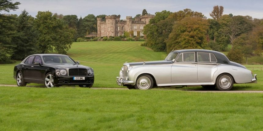 Bentley V8 60th anniversary