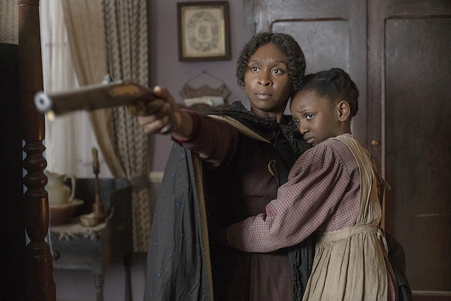 Cynthia Erivo stars as Harriet Tubman and Aria Brooks as Anger  Credit Glen Wilson  Focus Features