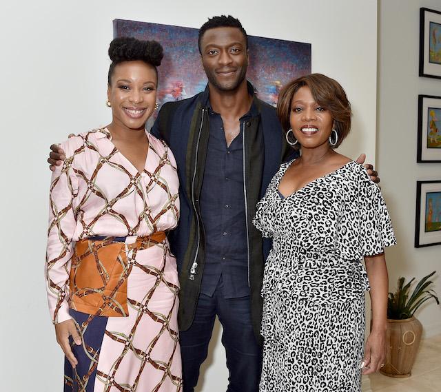 Chinonye Chukwu, Aldis Hodge, and Alfre Woodard