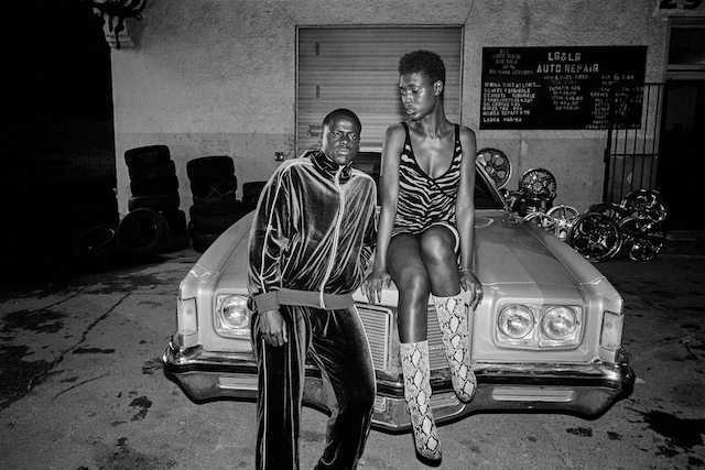Slim (Daniel Kaluuya) and Queen (Jodie Turner-Smith) in Queen and Slim