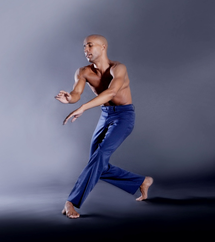 """DBDT dancer Sean J. Smith dancing """"Reflections in D"""" in photograph by Brian Guilliaux."""