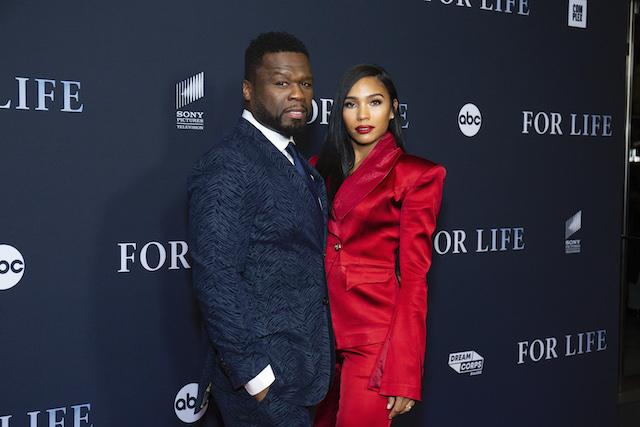 Curtis 50 Cent Jackson and Jamira Haines