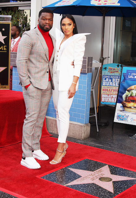 Curtis [50 Cent] Jackson and Jamira Haines